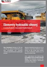 Elementy hydrauliki siłowej w samochodach i maszynach budowlanych